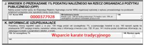 Cel Wsparcie karate tradycyjnego