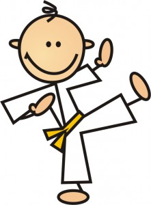 maly karateka_sam