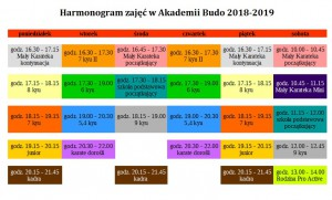harmonogram 2018-2019
